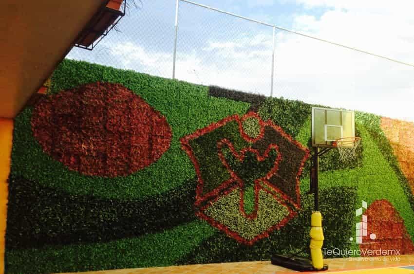 Muros verdes artificiales para interiores y exteriores te for Muros verdes naturales